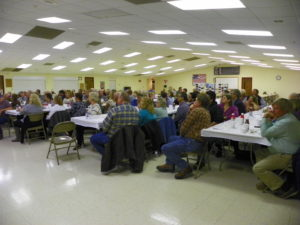 Total attendance at the banquet was 100.